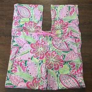 Vera Bradley Pinwheel Pink Pajamas Pant